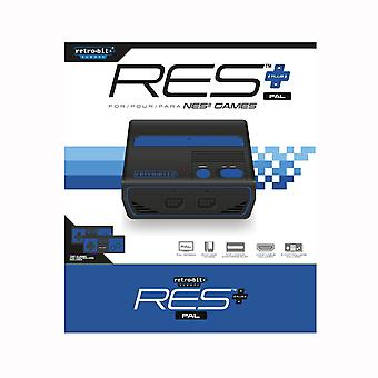 RES+ HD PAL NES Retro-Bit  - Retro
