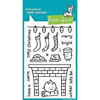 Lawn Fawn Clear Stamps Cozy Christmas (LF334)