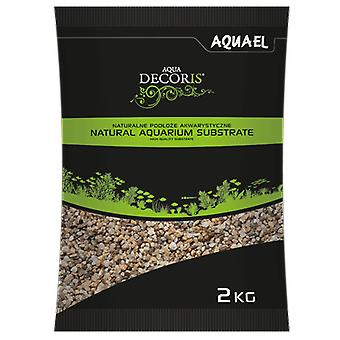 Aquael Grava Gruesa Natural para Acuarios 5-10Mm 2Kg