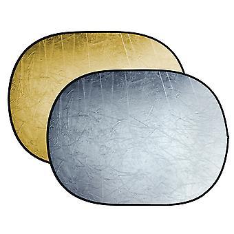 BRESSER BR-TR5 Faltreflektor gold/silber 90x120cm