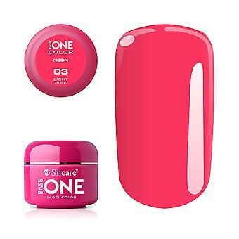 Base one Neon-Light pink 5 g UV-gel