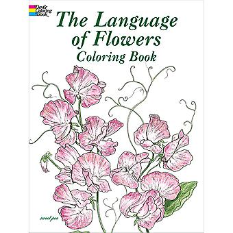 Dover Publications-The Language Of Flowers Coloring Book DOV-43035