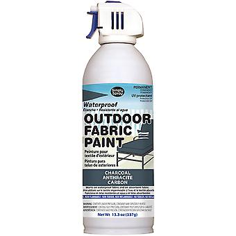 Outdoor Spray Fabric Paint 13.3oz-Charcoal OF0046-4M