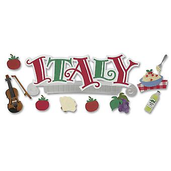 Jolee's Boutique Title Wave Stickers Italy Spjt 63