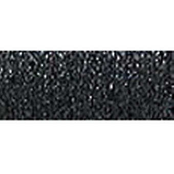 Kreinik Fine Metallic Braid #8 10 Meter 11 Yards schwarz F-005