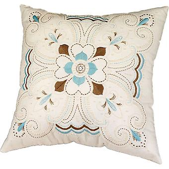 Kaleidoscope Pillow Candlewicking Embroidery Kit 14