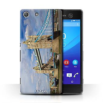 STUFF4 Case/Cover for Sony Xperia M5/Tower Bridge/London Sites