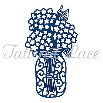 Tattered Lace Hydrangea Jar sterven