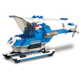 Sluban Helicopter Police Intervention (Toys , Constructions , Vehicles)