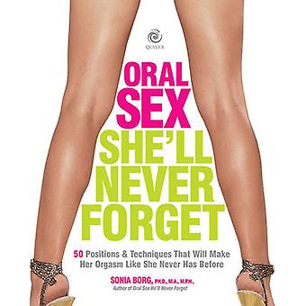 Oral Sex Shell Never Forget by Sonia Borg