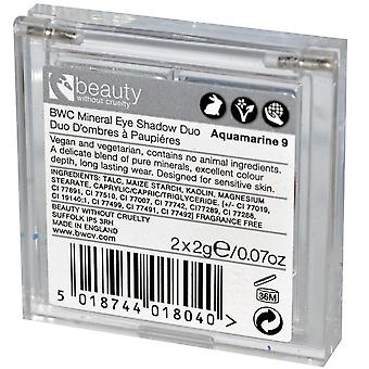 Beauty Without Cruelty Finish Satin Eye Shadow Duo Aquamarine 9