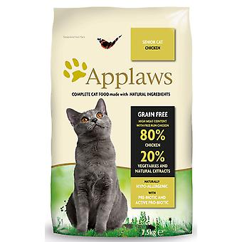 Applaws kat tør Senior kylling 7,5 kg