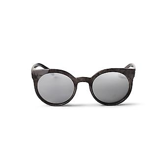 Cheapo Padang Sunglasses - Grey / Silver Mirror