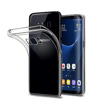 Ultra thin cellphone cover cases TPU for mobile Samsung Galaxy S8 plus transparent clear