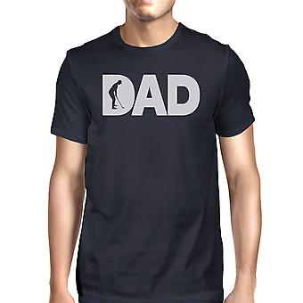 Papà Golf Navy Mens t-shirt divertenti per Golf papà Festa del papà regali