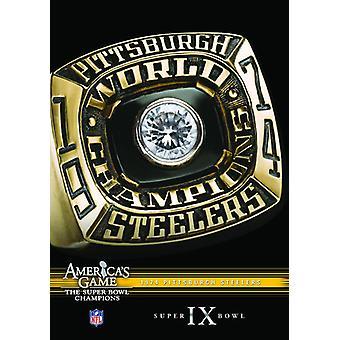 NFL Amerika spil: 1974 Steelers (Super Bowl IX) [DVD] USA importerer