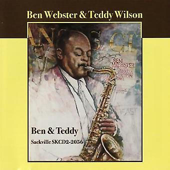 Webster/Wilson - Ben & Teddy [CD] USA Importer