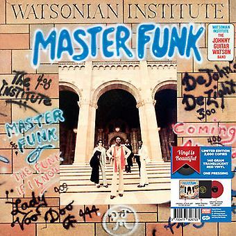 Watsonian Institut - Master Funk - rød Vinyl 2017 Limited Edition [Vinyl] USA importerer