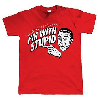 Ich bin dumm, lustige Herren Neuheit T Shirt