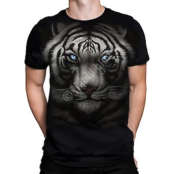 Majestic White Tiger  Short Sleeve Tshirt