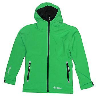 Blue Wave enfants Softshell jacket vert - 0220-06