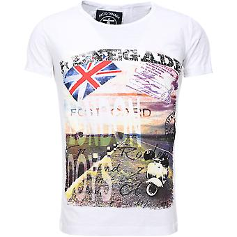 Akito Tanaka T-Shirt RENEGADE white MOTORS