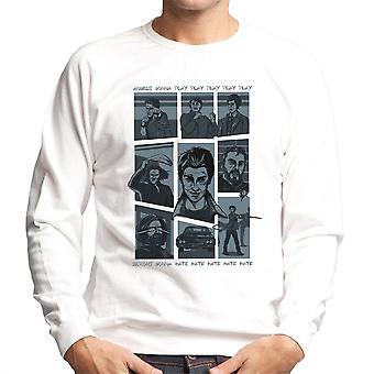 Overnaturlige parodi sang Hillywood Vis Sam og Dean Winchester mænds Sweatshirt