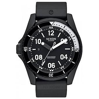 Nixon The Descender Sport Watch - Black