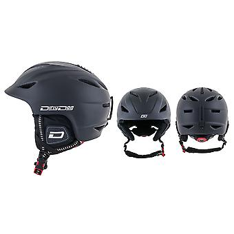 Dirty Dog Eclipse Snow Helmet - Matte Black