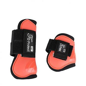 QHP Luxury protectors in September Tendon Full Hot Coral