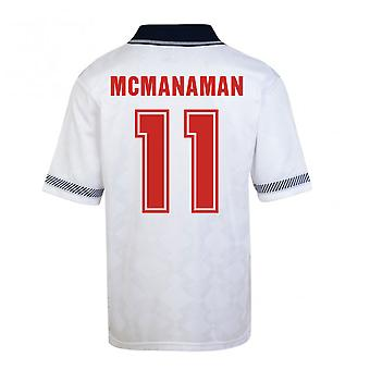 Score Draw England World Cup 1990 Home Shirt (Mcmanaman 11)