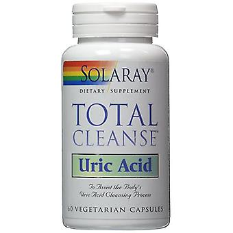 Solaray Total Cleanse Uric Acid 60Cap. (Vitamins & supplements , Multinutrients)