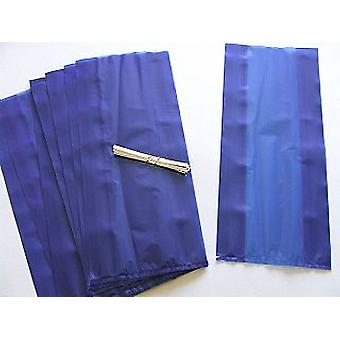 30 Long Cellophane Party Bags - Royal Blue | Kids Party Loot Bags