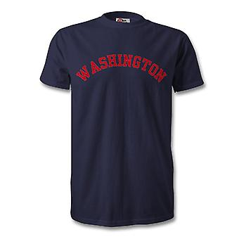 Universidad de Washington estilo camiseta