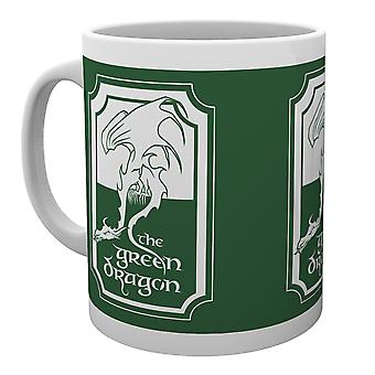 Lord van de ringen Green Dragon mok