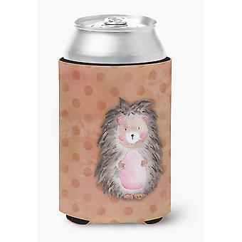 Carolines schatten BB7378CC Polkadot Hedgehog aquarel kan of fles Hugger
