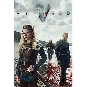 Vikings - Blood Poster Poster Print