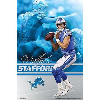 Detroit Lions - Matt Stafford Poster Print