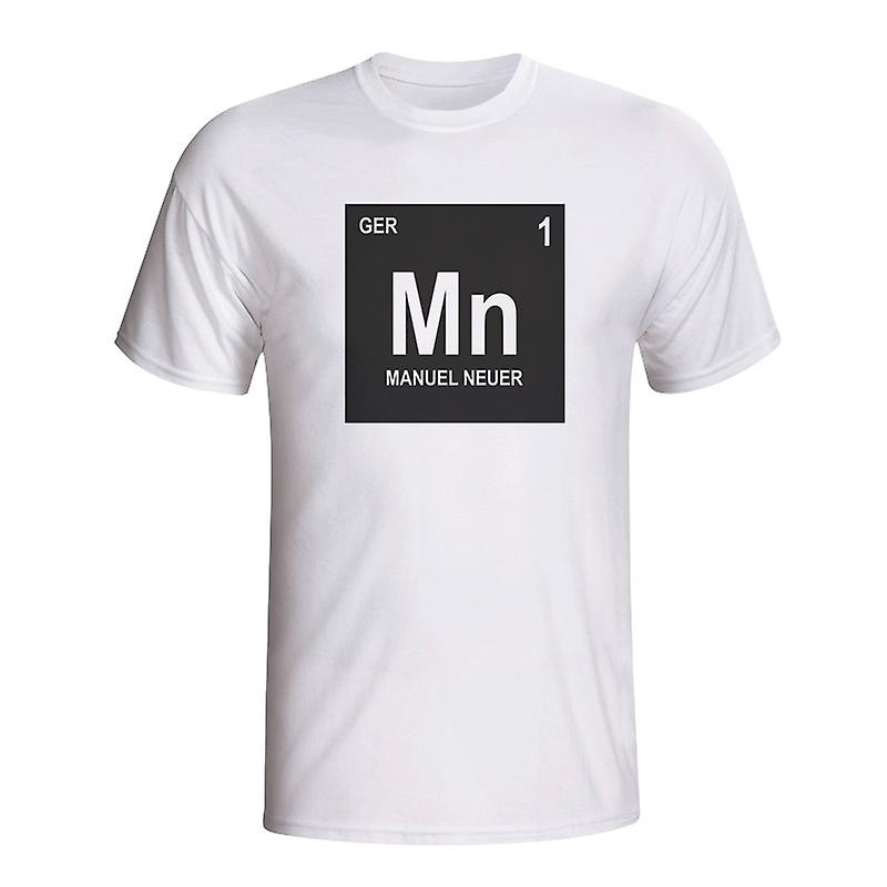 Manuel Neuer Germany Periodic Table T-shirt (white) - Kids