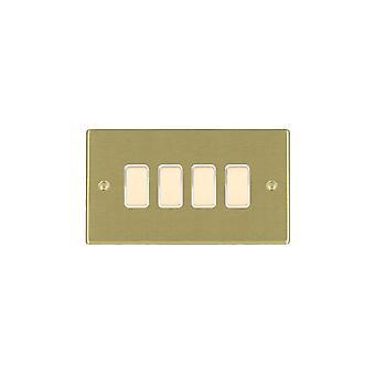Hamilton Litestat Hartland mosiądz satyna 4g 250 M-sposób Touch maszt SB/BL