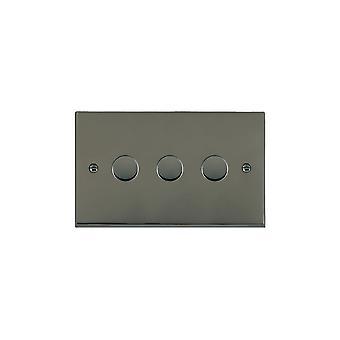 Hamilton Litestat Cheriton viktorianischen Black Nickel 3g 100W LED Dimmer BK