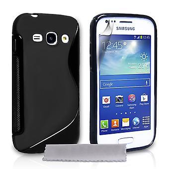 Caseflex Samsung Galaxy Ace 3 Silicone Gel S-Line Case - Black