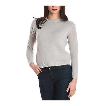 Sun 68 women's 2726231 white wool sweater