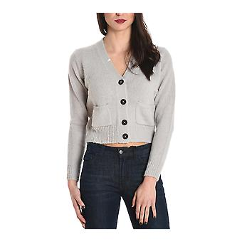 Sun 68 ladies 2726431 gray Wool Cardigan