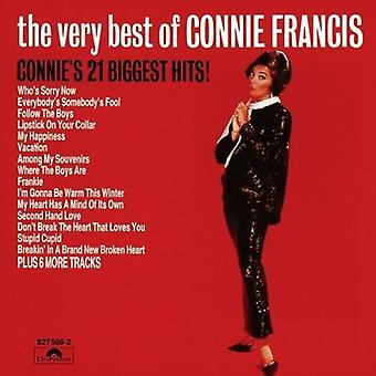 Connie Francis - meget bedste af Connie Francis [Vinyl] USA import