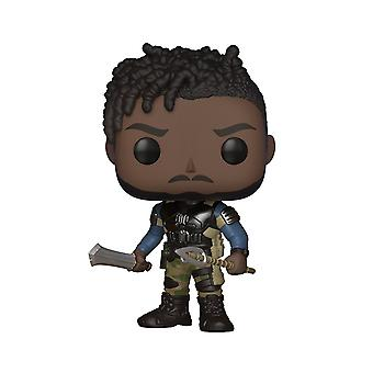 Funko Pop! Marvel: sort Panther film-Erik Killmonger samlerobjekt tal