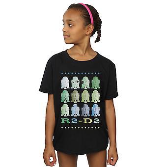 Star Wars Girls Green R2-D2 T-Shirt