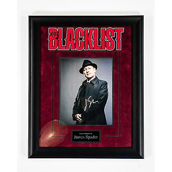 The Blacklist - Signed James Spader TV Series - Framed Artist Series