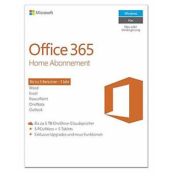 Microsoft Office 365 Home Full version, 5 licenses Windows, Mac OS, Android Office package