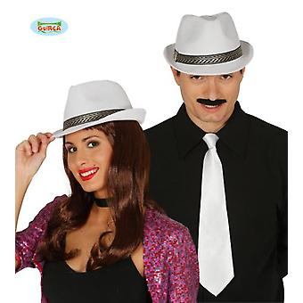 Guirca White Gangster Hat (Babies and Children , Costumes)